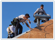 Roofing Replacement-Rochester Michigan - New Shingles on A Home , Free Roofing Quotes and Estimates on homes and Business.